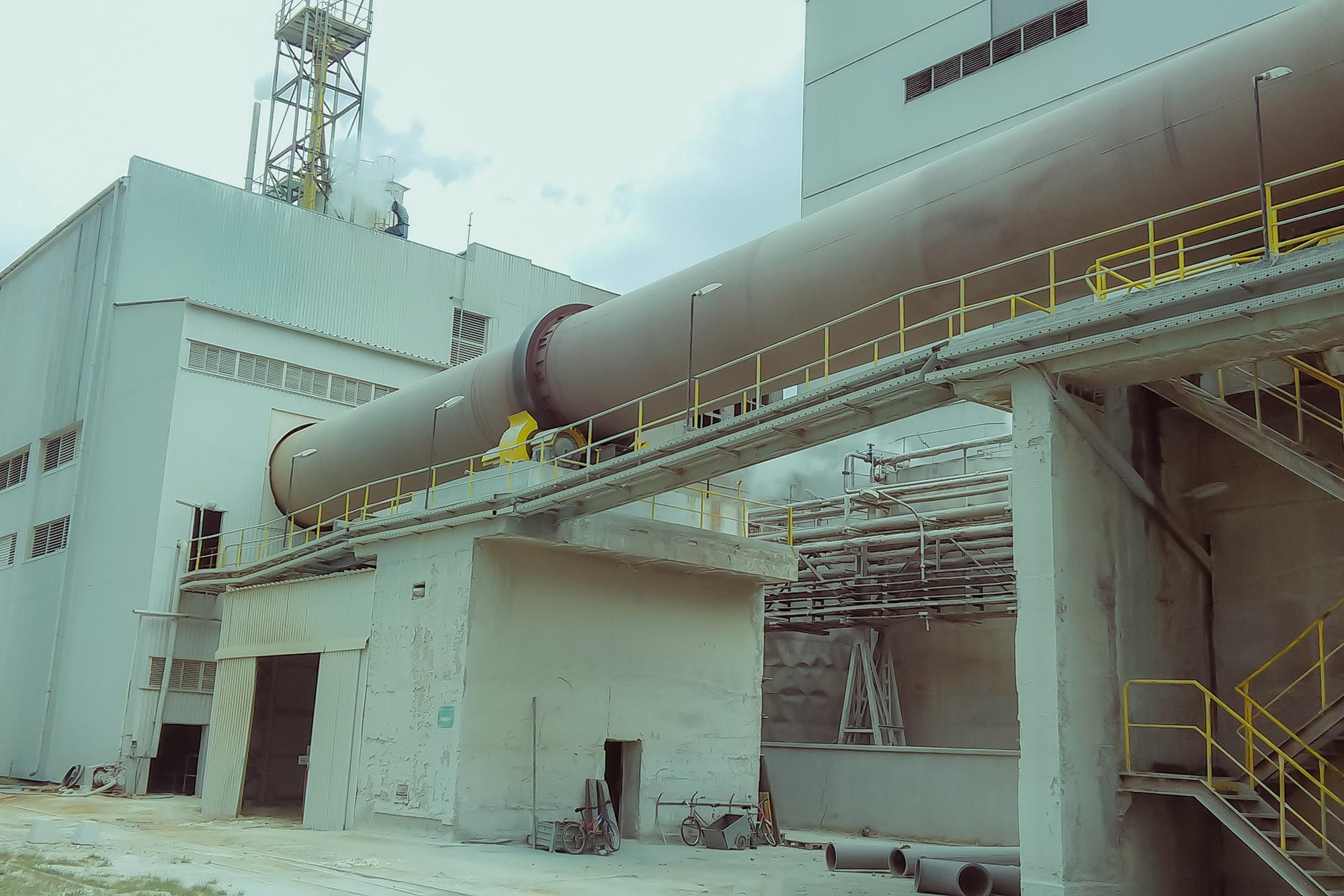 Dodávka ainštalácia elektrozariadení aMaR látkového filtra rotačnej pece