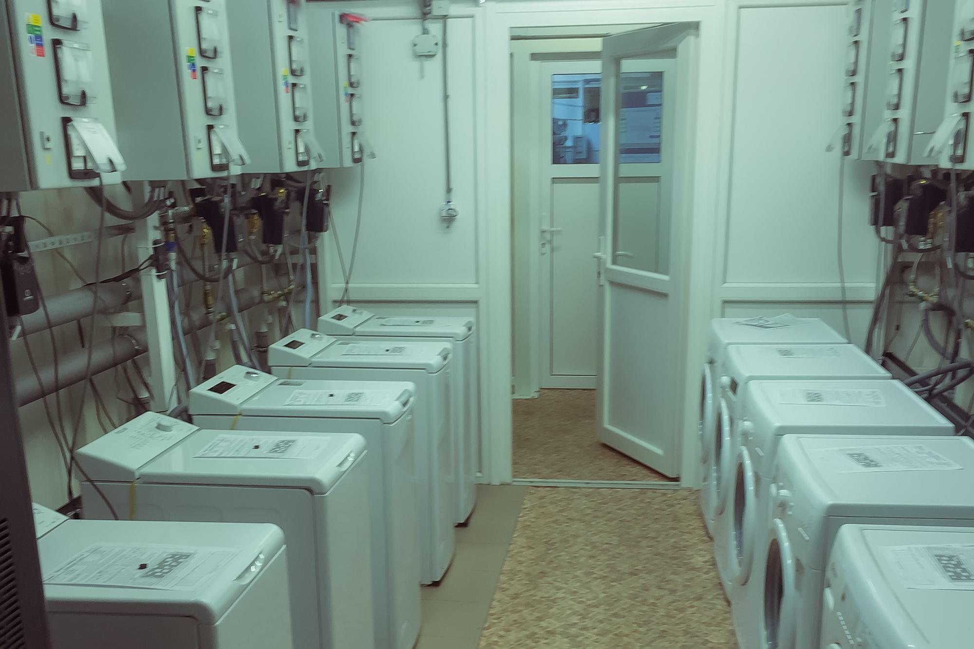 Laboratórium schvaľovania nových modelov pračiek