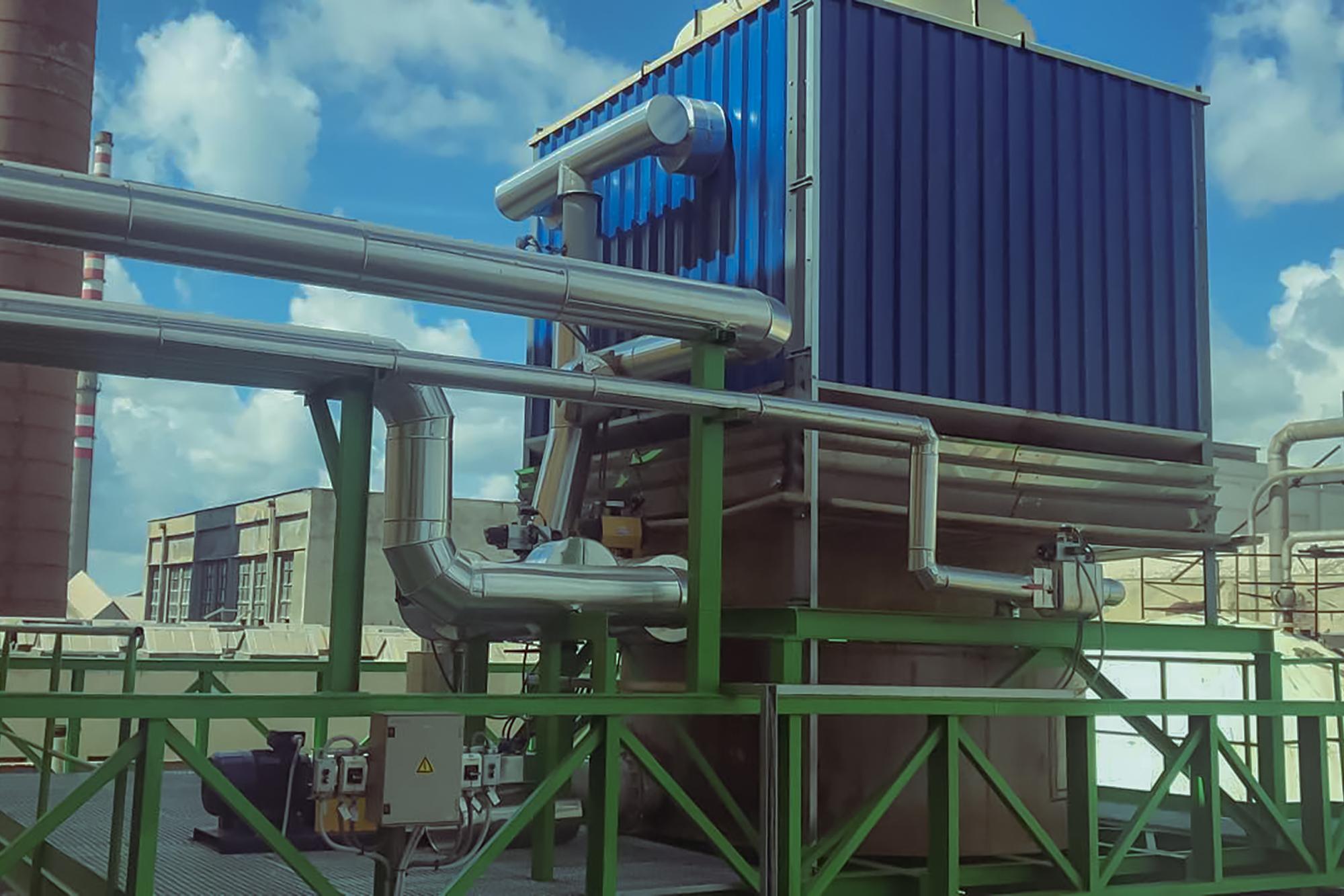 Likvidácia SOG a CNCG plynov spaľovaním