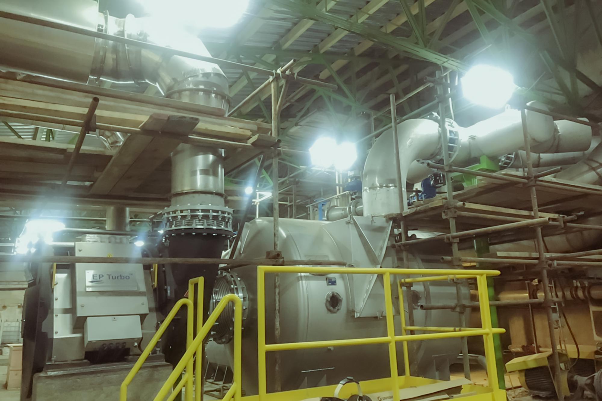 Modernizácia celulózového stroja