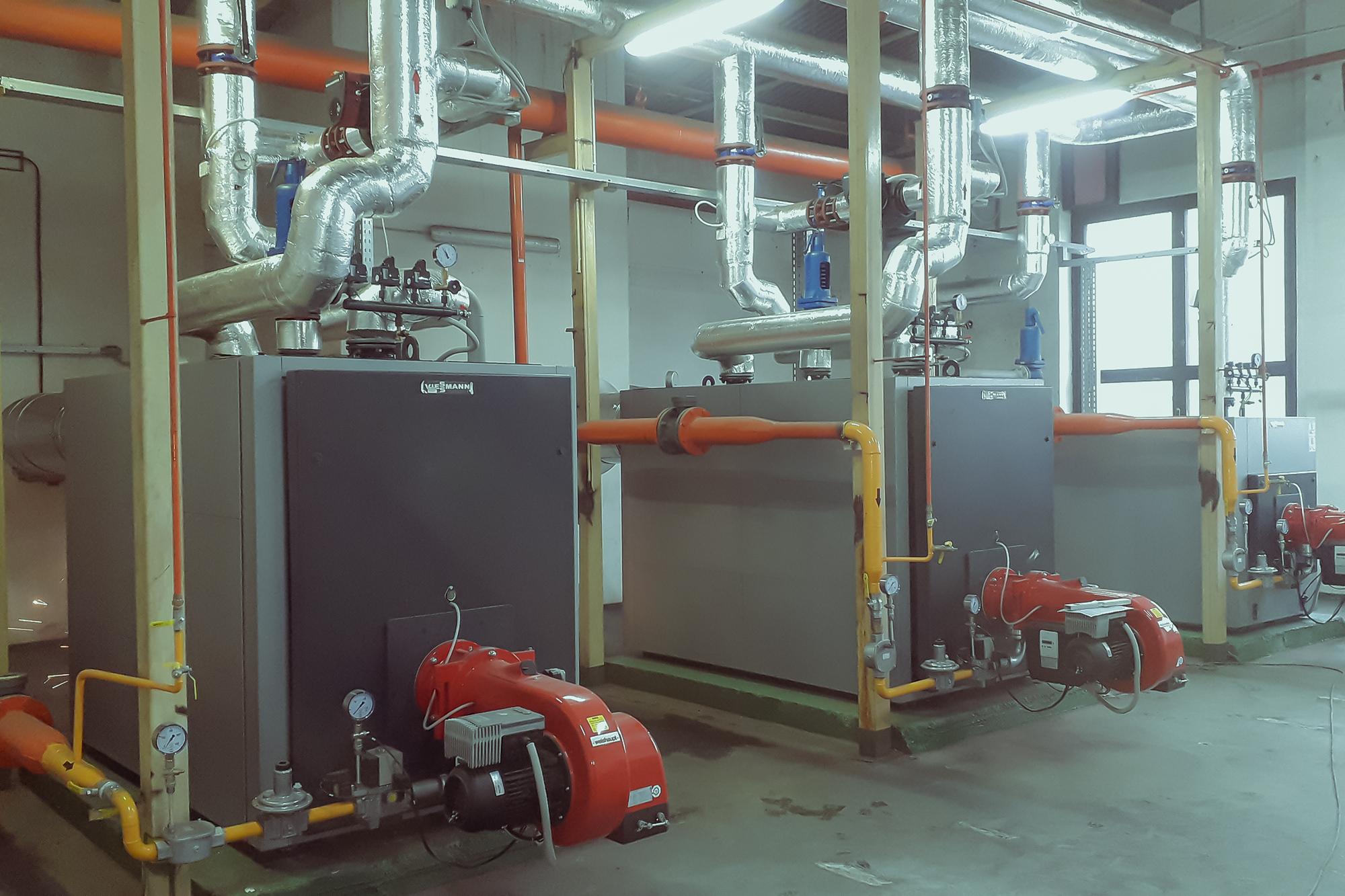 Rekonštrukcia plynovej kotolne