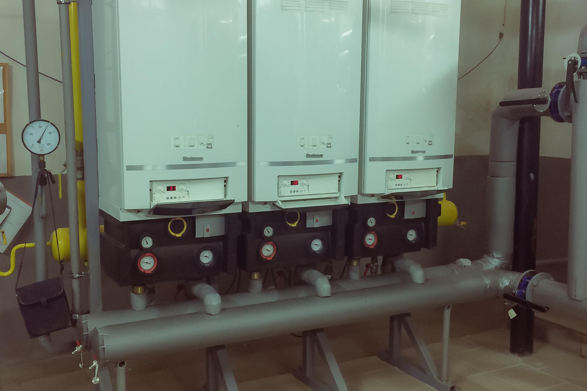 Revízia a servis plynovej kotolne